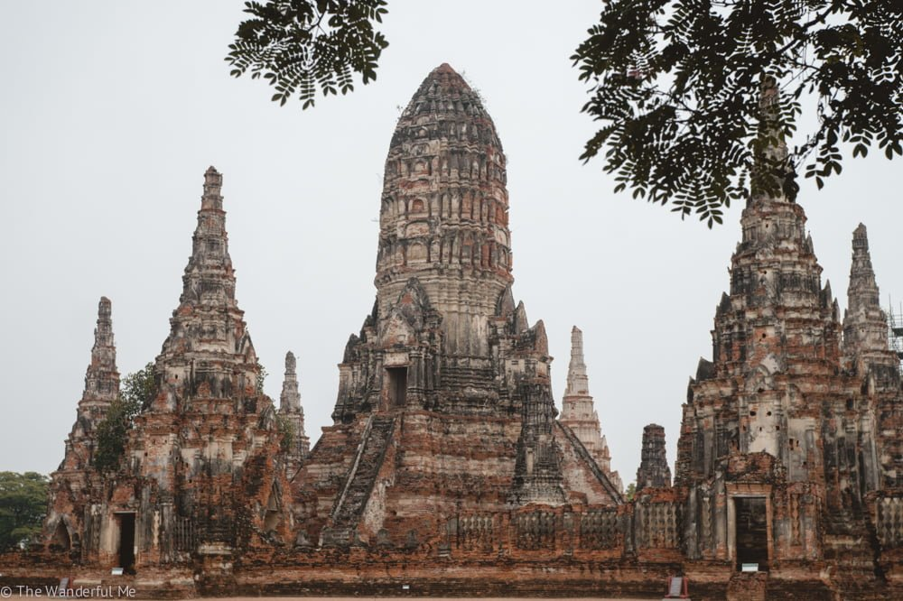 Wat Chai Watthanaram stands tall as one of the most beautiful and remarkable temple complexes in the Ayutthaya Historical Park.
