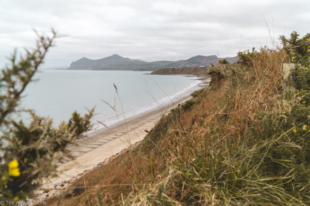 Nefyn Beach in North Wales is perfect for those who want to get away from the crowds and walk on the sand.