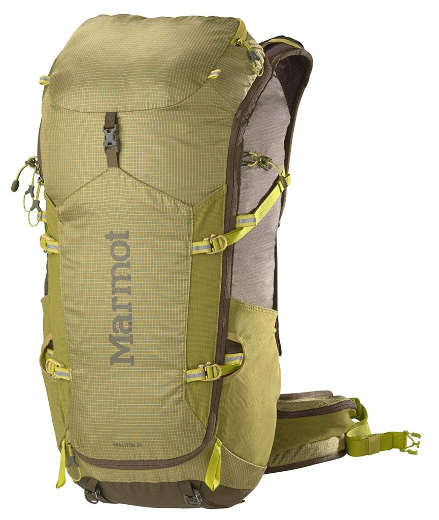 Marmot Graviton Backpack is great for those who want something larger but still just as durable and long-lasting.