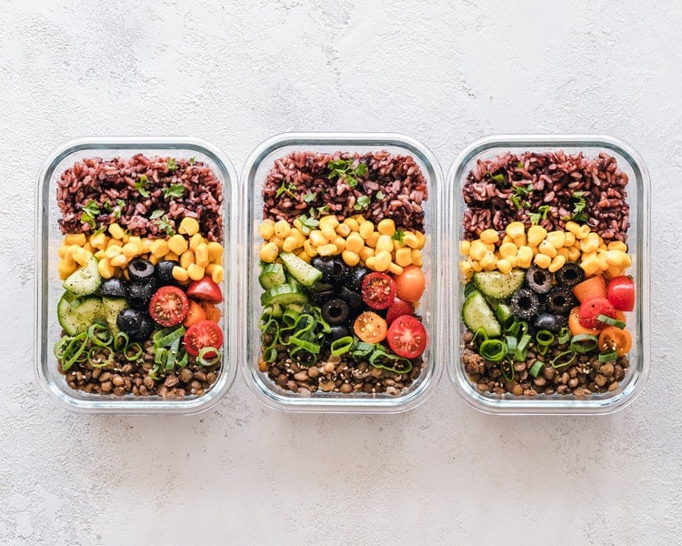 Opting for reusable containers you already have at home is an easy way to be sustainable and reduce plastic consumption.