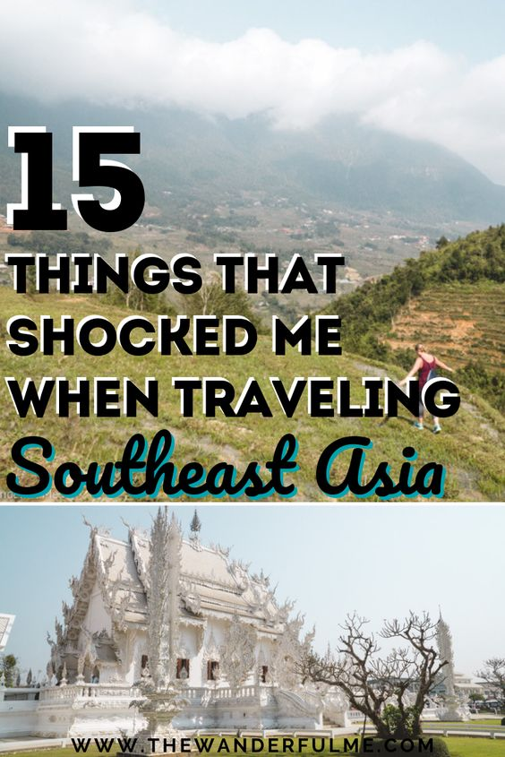 Want to know what shocked me on my first Southeast Asia backpacking trip? You're going to want to know these 15 things if you're venturing off on a Southeast Asia adventure!   #backpacking #adventure #southeastasia #asia #trip #travel #tips
