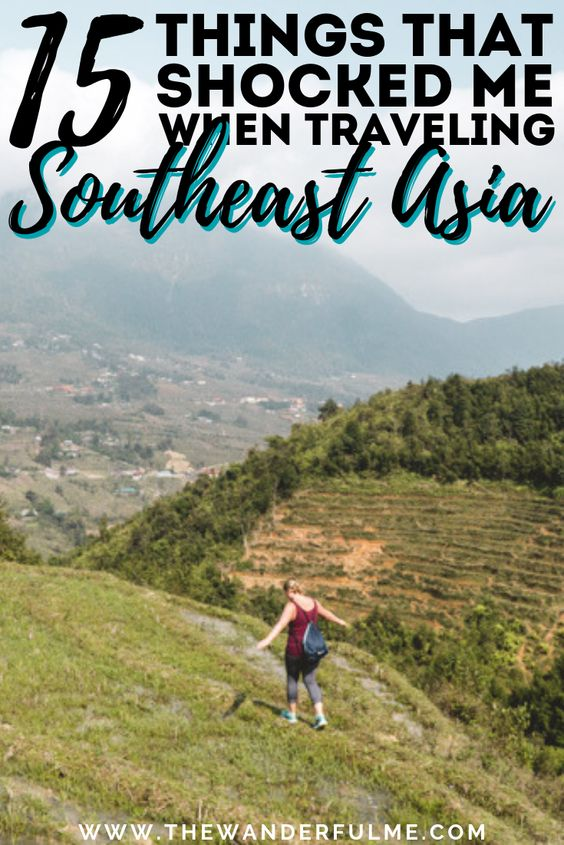 Backpacking Southeast Asia soon? Before you go, make sure you read this! It's 15 things that shocked me when traveling Southeast Asia for the first time. You're going to want to hear these Southeast Asia travel tips! | #southeastasia #backpacking #travel #tips