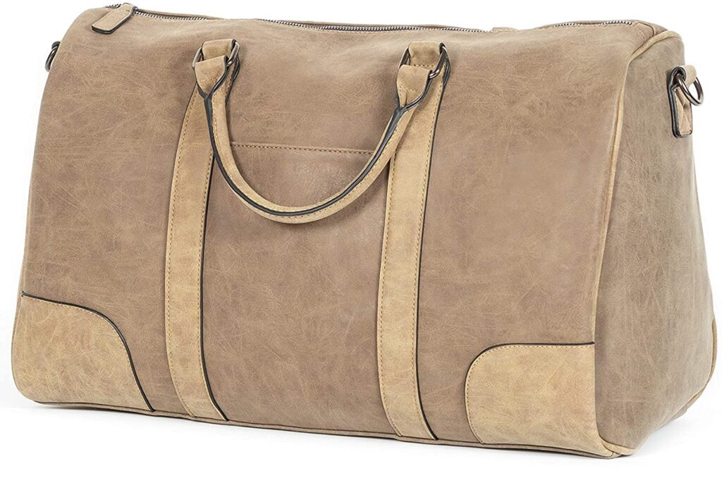 Jackson Vegan Leather Carry-On Duffel Bag - perfect for anyone who wants a durable, high-quality vegan duffel bag!