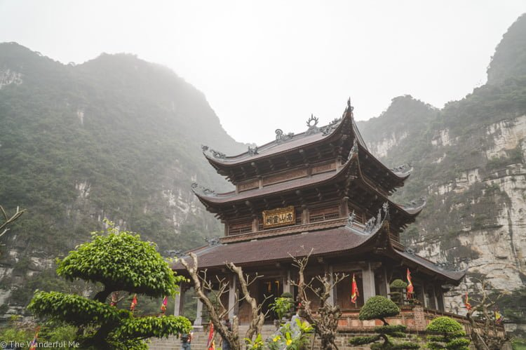 Gorgeous temples in Vietnam, as well as Southeast Asia, are a great way to explore on foot.