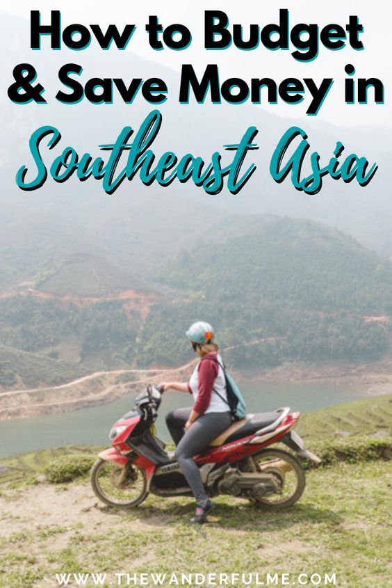 Backpacking Southeast Asia soon? Or traveling Southeast Asia right now? If you want to budget right and save money, here's all my best tips! As a seasoned Southeast Asia backpacker, I know all the best ways to do budget right! | #southeastasia #asia #backpacking #adventure #travel #moneysavingtips #budgeting