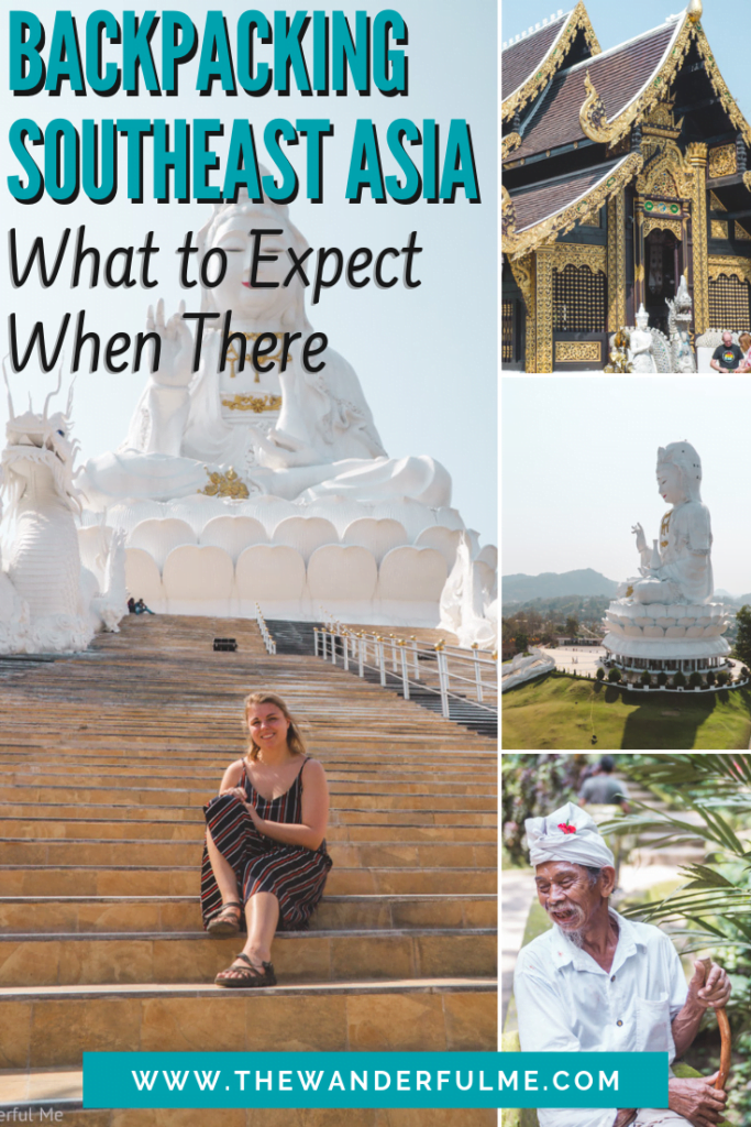 Backpacking Southeast Asia is totally different than backpacking Europe -- and a whole other ballgame! There are a few different things you need to expect and do when traveling Southeast Asia, which are all in this handy 4-part Southeast Asia travel guide. Check it out! | #southeastasia #asia #travel #trip #adventure #backpacking #tips