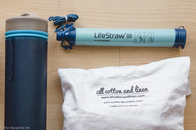 The LifeStraw makes it easy to have access to clean water 24/7.