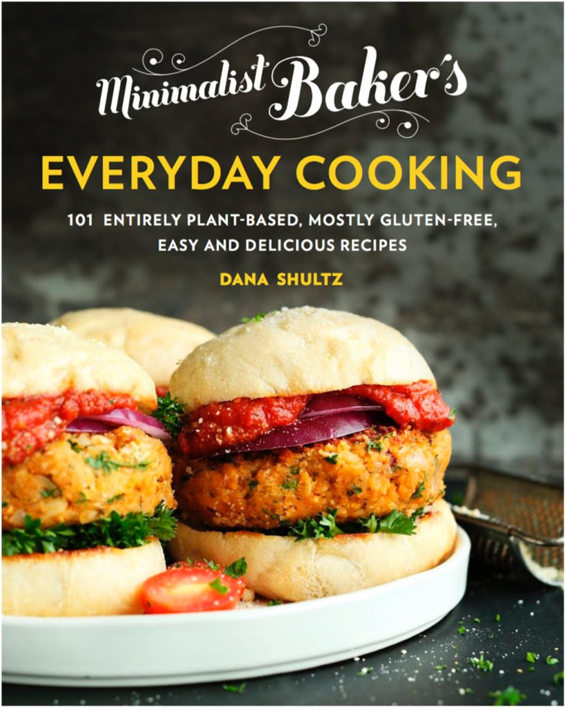 The book cover to Dana Shultz's Everyday Cooking cookbook.