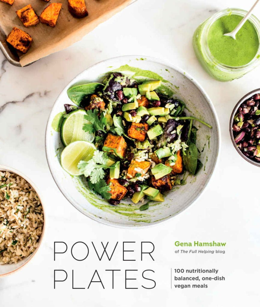 The book cover to Gena Hamshaw's Power Plates cookbook.