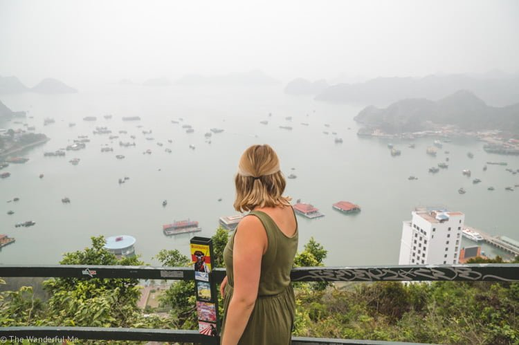 A must-see on any Southeast Asia backpacking trip, Halong Bay is magical, wondrous, and will take your breath away.