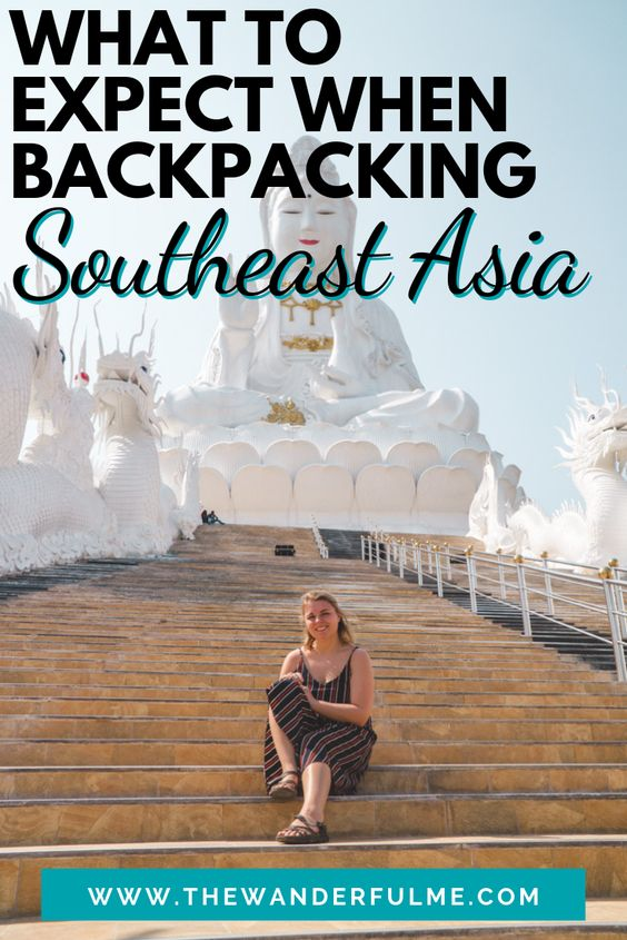 Are you planning a Southeast Asia trip? Then this is a must-read! Whether you're heading to Thailand, Cambodia, or Vietnam -- or all the Southeast Asia countries, there's a few things you need to expect when on a Southeast Asia backpacking adventure. | #southeastasia #backpacking #trip #asia #tips #adventure
