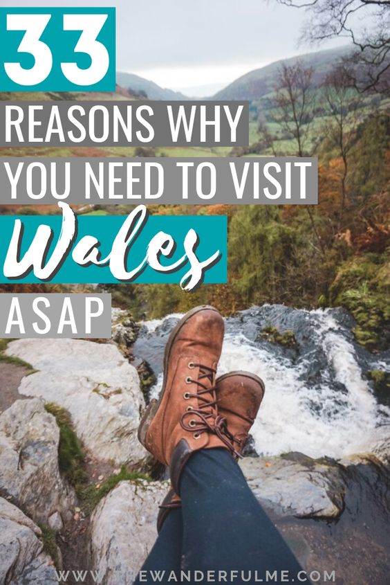 Not sure if traveling Wales is worth your time? Well... HECK YEAH it is! Here are 33 reasons to visit Wales that'll have you booking a flight ASAP. (You won't want to miss out on the mountains, cute villages, weird quirks, and more!) | #wales #uk #unitedkingdom #welsh #travel