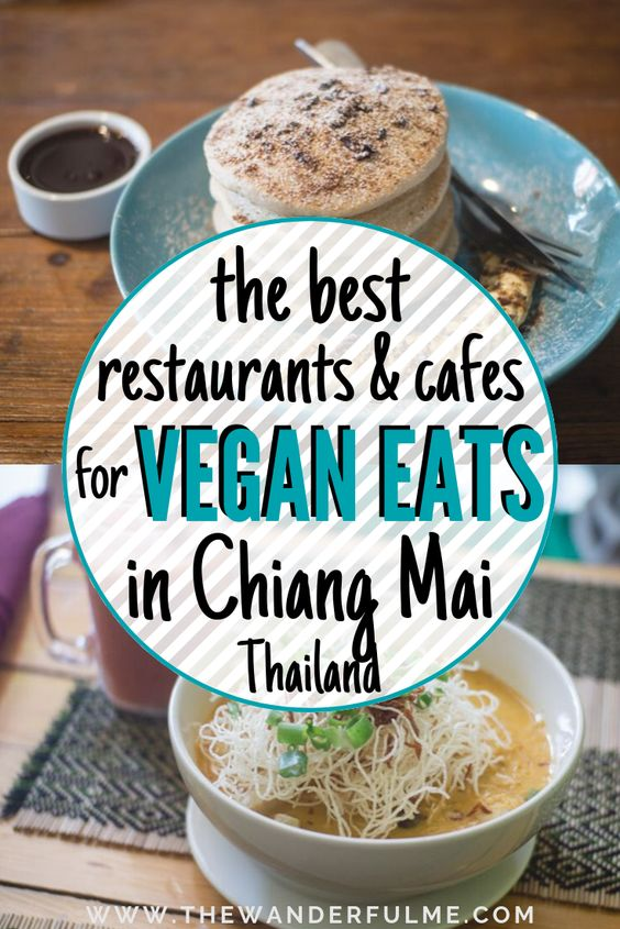 On the hunt for some yummy vegan eats in Chiang Mai, Thailand? Here's the ultimate guide to the BEST restaurants, cafes, and eateries for vegan food in Chiang Mai. You'll find curry, burgers, salads, super foods, and even dessert on this handy dandy list. | #vegan #chiangmai #thailand #veganeats #vegantravel #southeastasia #foodie