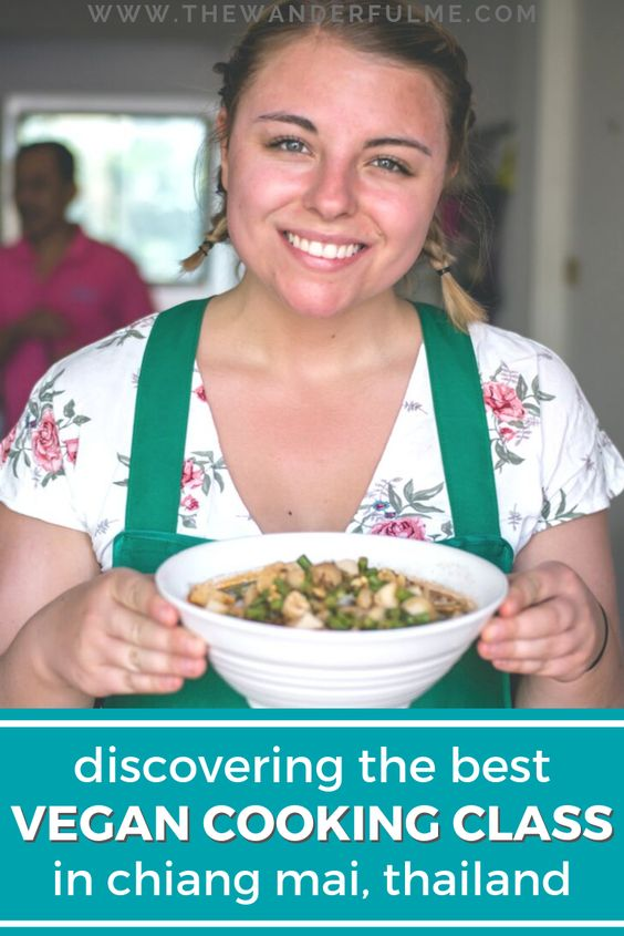 Want to take a vegan cooking class in Chiang Mai, Thailand but aren't sure which one to pick? Taste from Heaven is HANDS DOWN the best one to choose! From vegan duck curry to vegan mango sticky rice, you can learn to cook vegan Thai food from the experts. Check it out. | #thailand #cookingclass #chiangmai #vegan