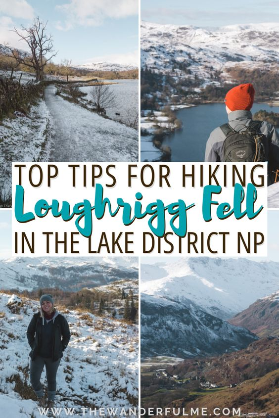 Thinking of doing some hiking in the Lake District National Park in England? After doing a fabulous hike up Loughrigg Fell near Ambleside, I've got all the top tips on how to best prepare and overcome your awesome hike! Or, if you simply need some hiking inspiration, definitely take a look at these Lake District photos because OMG. They are gorgeous! | #lakedistrict #england #loughriggfell