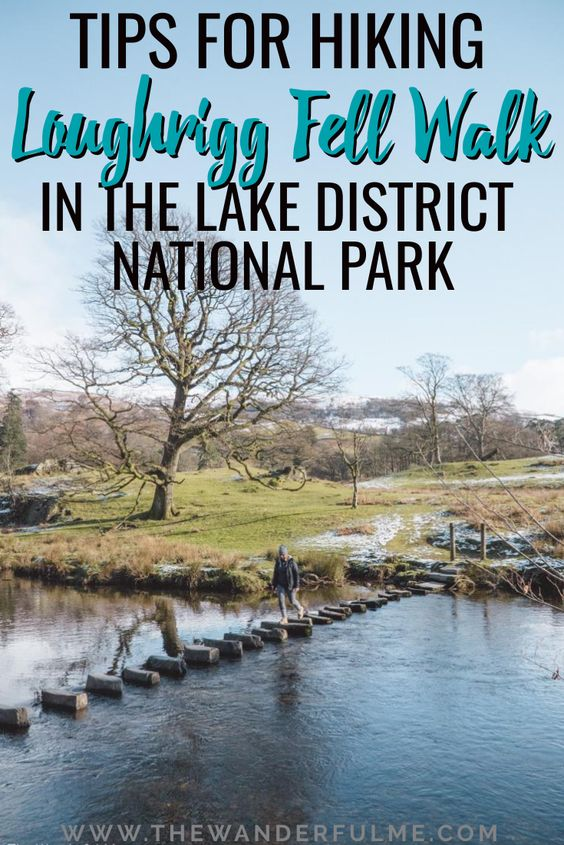 If you're looking for an awesome walk or hike in the Lake District, this is a moderate trek that shouldn't be missed! Featuring unbelievable views of England and the surrounding mountains the Lake District, Loughrigg Fell Walk is perfect for a weekend getaway or short day trip. | #loughriggfell #lakedistrict #england