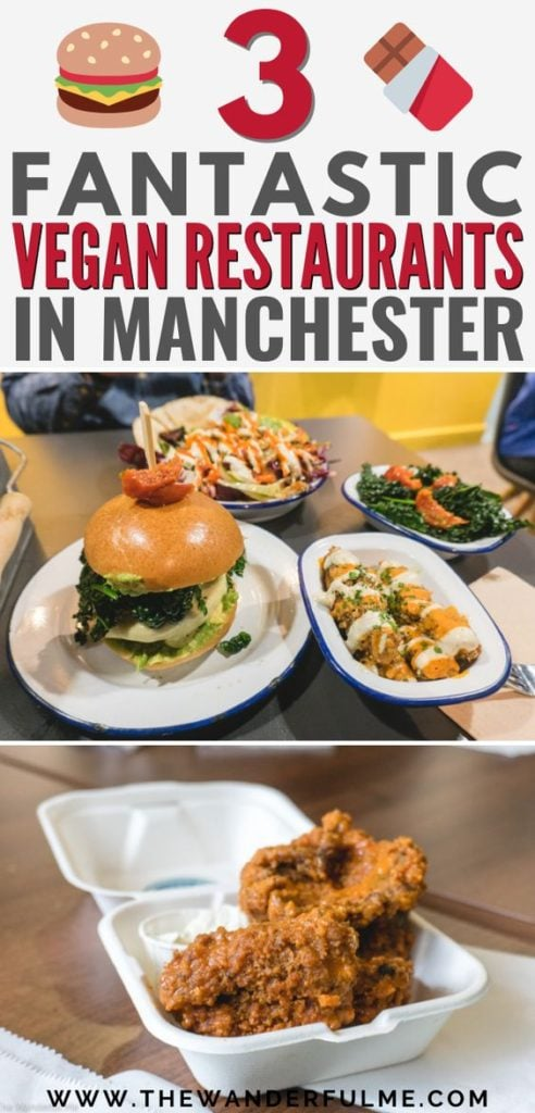 "Want some mouthwatering vegan food in Manchester, England? Look no further! From vegan burgers and brownies to vegan milkshakes and vegan ""chicken"" wings, you can find all the best vegan and vegetarian food in Manchester on this list. 