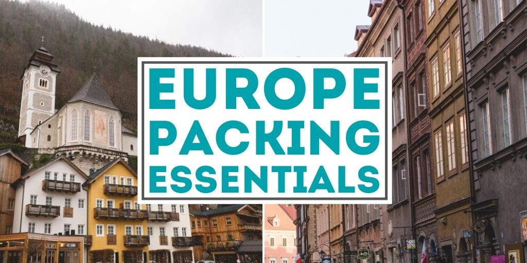If you're traveling to Europe for the first time, here's the packing essentials you're going to want to remember. | The Wanderful Me