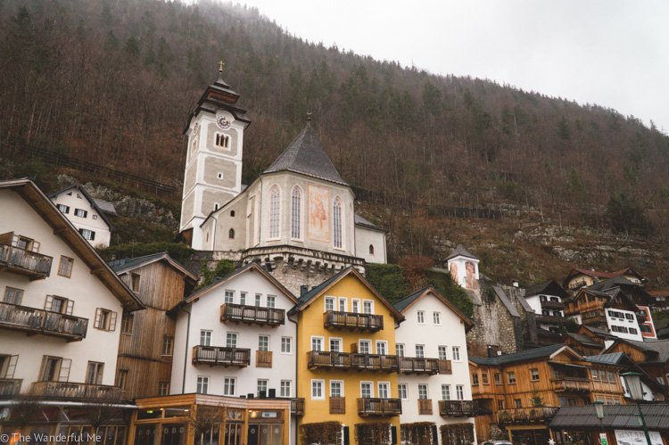 Hallstatt, Austria, is a fantastic destination to explore on your first trip to Europe.