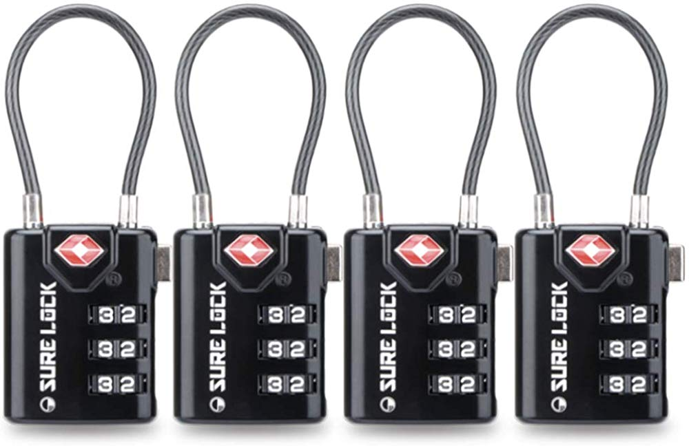 Combination locks are a must for keeping all your stuff safe and secure.