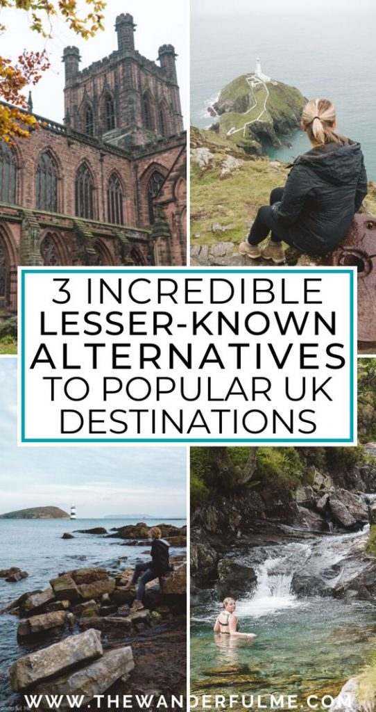 Ready to have the most amazing UK trip? Include these lesser-known, yet totally incredible, alternatives on your itinerary to go off the beaten path and experience a more unique adventure! #UK #sustainabletravel #britain #travel #europe