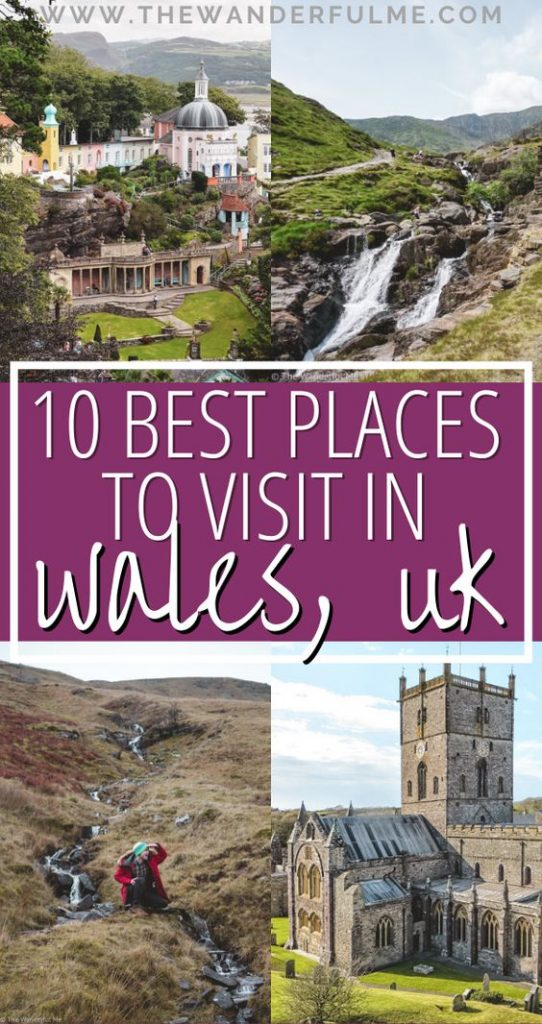 Need some help figuring out where you should visit in Wales? A small, underrated country in the UK, there are TONS of cool places, sites, and attractions that'll blow your mind. Here are the 10 best places to visit in Wales that'll show you the best of this little country. #wales #uk #walesuk #visitwales #travelwales