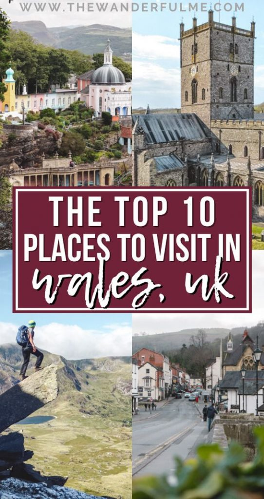 Thinking about visiting often forgotten, yet totally underrated, country of Wales in 2020? To help you see the best of it, here are the top 10 places to visit in Wales! #wales #uk #itinerary #thingstodo
