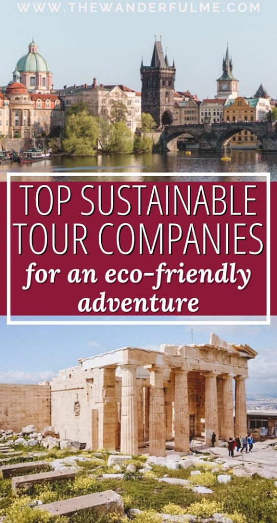 If you want to travel the world by tour this year, pick one of these top sustainable tour companies to both lessen your environmental impact while traveling AND have a great time! From G Adventures to Intrepid Travel, these are my top sustainable tours for an eco-friendly adventure. #eco #sustainable #green #travel #sustainabletravel