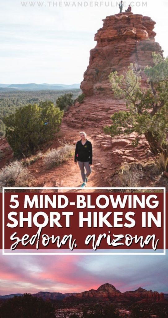 Are you traveling to Sedona, AZ, soon and need some help planning your hikes in the area? Try one (or more!) of these 5 mind-blowing short, easy hikes in Sedona! From Devil's Bridge to Boynton Vortex, these little treks will help you see the best of the Sedona area. #sedona #arizona #usa #unitedstates #hiking #travel