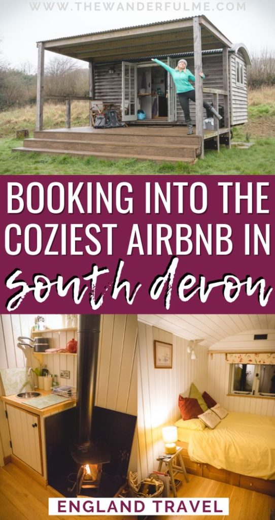 Are you ready to stay at the coziest Airbnb in South Devon, England? Featuring a log burning stove, secluded location, and perfect access to all the best Devon attractions and sites, it ticks all the boxes. Check it out to plan your Devon trip! #devon #england #uk #travel #tips
