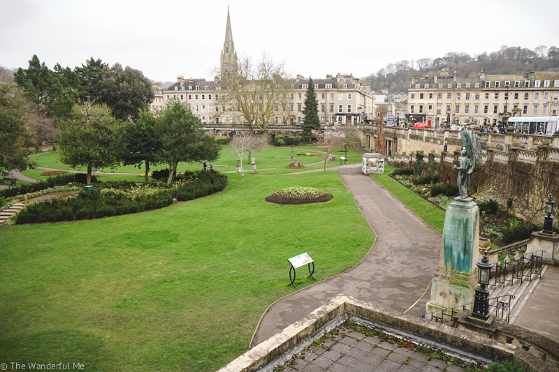 The Parade Gardens in Bath, England are a great attraction in the city when you need to sit back and relax.