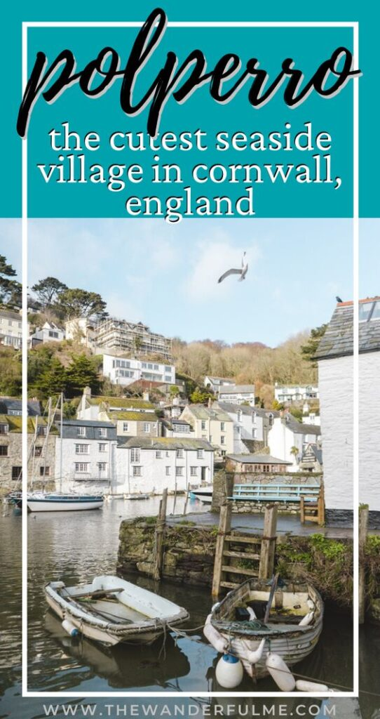 Are you heading out on an England trip or Cornwall holiday? Don't forget to check out the historic little fishing village of Polperro! Hands down, this is one of the cutest places on the Cornwall coast, Polperro features a beautiful harbor, gorgeous views, wonderful pubs, and access to great Cornwall walks. Here are 6 reasons you need to add Polperro to your itinerary ASAP. #polperro #england #cornwall #holiday #cornwallitinerary