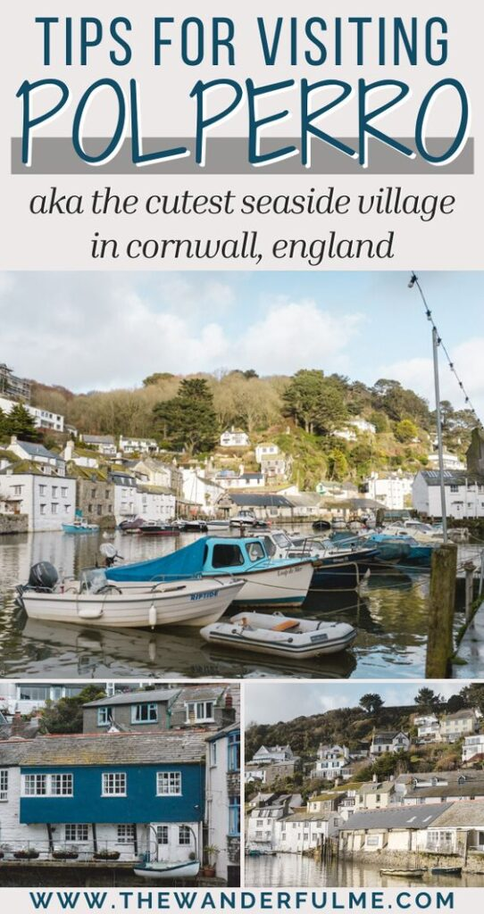 Thinking of visiting Polperro? Hands down this is the CUTEST seaside village in Cornwall, England, and it is totally worth a trip. From where to park and how to get there, this is the post you need to read filled with the best tips for traveling and visiting Polperro. #polperro #cornwall #england #travel #village