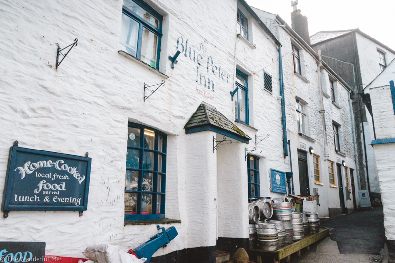 The Blue Peter Inn is a great pub to eat some delicious vegan food at when you're visiting Polperro!