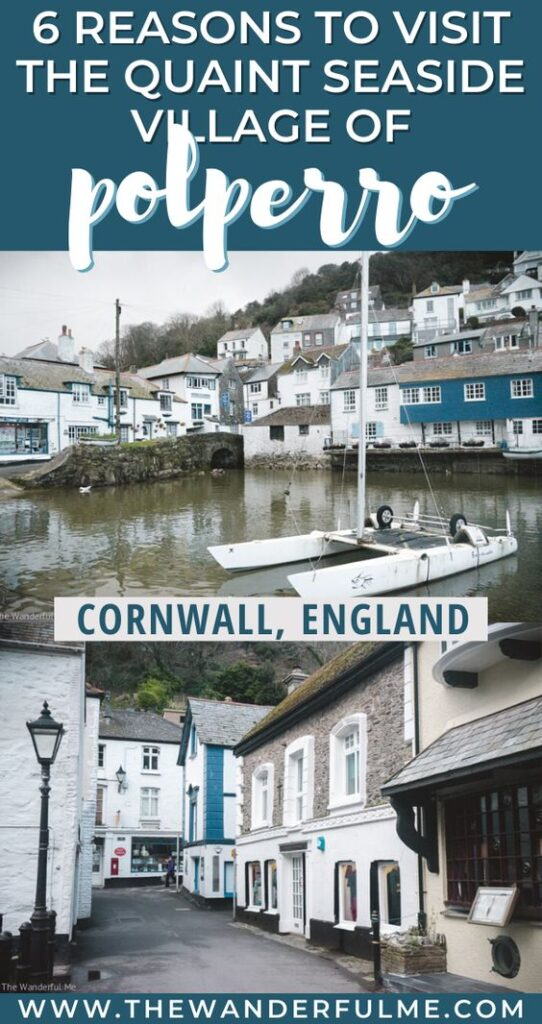 Ever heard of the quaint seaside village of Polperro in Cornwall, England? With its picturesque harbor, beautiful walks, and great pubs (like the Blue Peter Inn!), Polperro is a must visit if you're in South England or on a Cornwall holiday! Here are 6 reasons you need to visit this historic fishing village ASAP. #polperro #cornwall #england #holiday