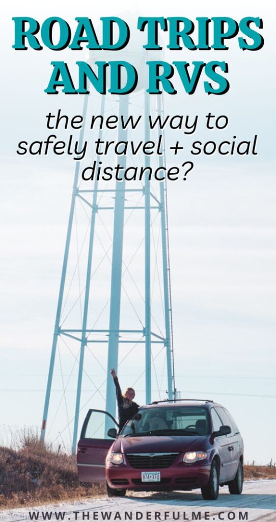 Have you ever considered going on a road trip or renting an RV or campervan for your next trip? A great way to safely travel and social distance, here are my 5 reasons why you should make this your next adventure. #rv #roadtrip #travel #socialdistancing