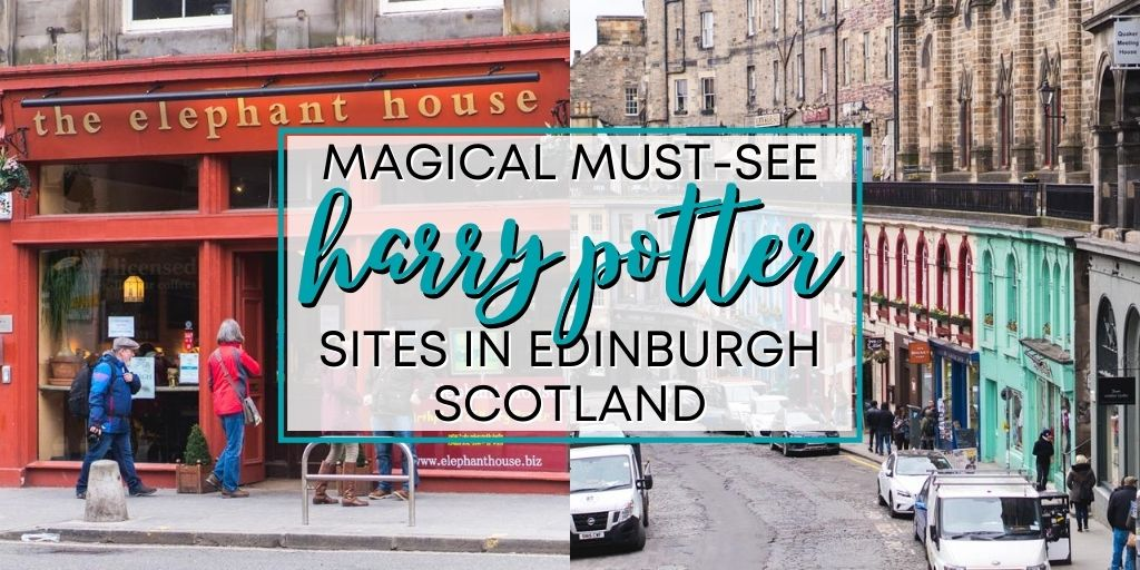 Looking for the BEST Harry Potter sites and attractions in Edinburgh, Scotland! Check out this awesome Harry Potter Bucket List for Edinburgh. Including Victoria Street, Greyfriars graveyard, the Elephant Cafe and more.