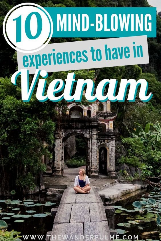 If you're planning a trip to Vietnam, make sure to read up on these 10 mind-blowing experiences to have in this magical country! | #vietnam #experiences #asia #southeastasia #travel #tips