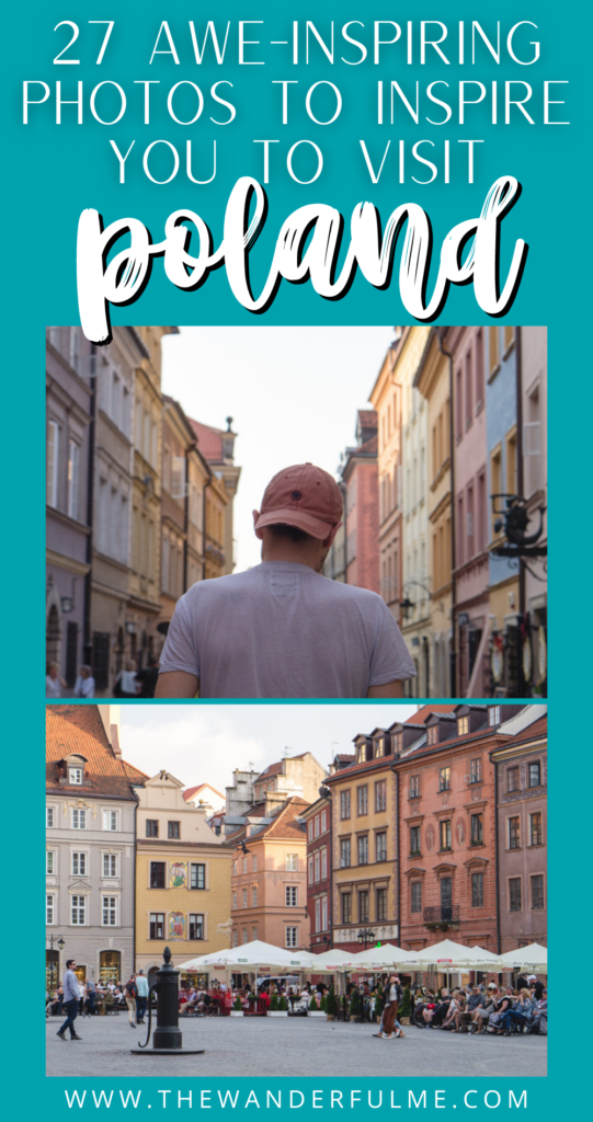 Ever thought about visiting Poland? These beautiful photos of Poland will have you adding this crazy awesome country to your bucket list ASAP. #PolandPhotos #PhotoDiary #Poland #VisitPoland #EasternEurope