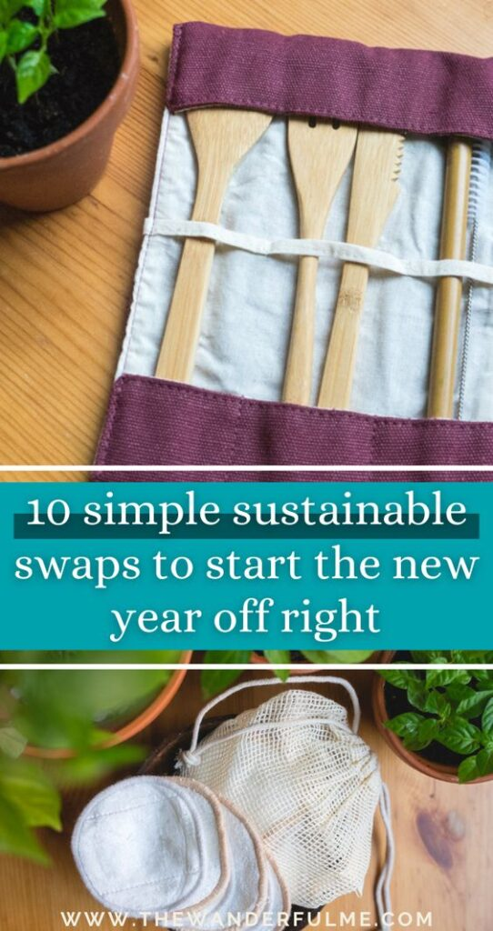 Start the new year off right by reducing your environmental impact, cutting your plastic consumption, and becoming more conscious about your purchases! To help you get a jump start on your eco-friendliness in 2021, take a look at these 10 simple sustainable swaps from Bambaw that you'll go nuts for. #sustainableblogger #sustainability #ecofriendly #eco #zerowaste #lowimpact #lowwaste #sustainable #swaps