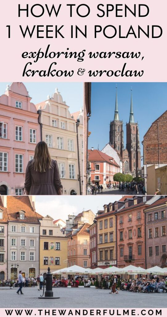 A beautiful country filled with captivating history, beautiful architecture, and fantastic things to do, Poland is no doubt one the most underrated Eastern European countries. If you're wondering how to spend one week in Poland, take a look at this 7 day Poland itinerary featuring the glorious cities of Warsaw, Kraków, and Wrocław!