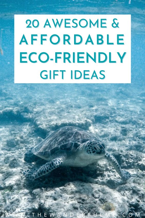 If you're on the lookout for some sustainable gifts to give your beloved friends and family, but are wondering what the heck you get someone who is more focused on being environmentally-friendly this year, don't fret! I've got just the list for you. Check out these 20 affordable eco-friendly gift ideas to give to your earth-lovin' pals (all are under $25!). / ecofriendly gift ideas for her / sustainable gifts / cheap sustainable gifts / green gift ideas / cheap eco friendly gifts / eco gifts