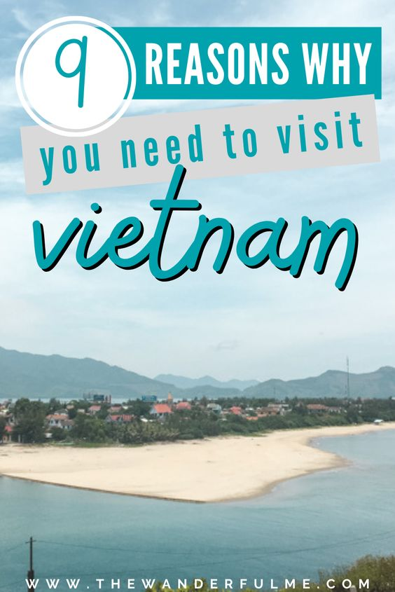 Have you ever thought about visiting Vietnam? A vibrant, bustling, and often strange country to visit in Southeast Asia, Vietnam has so much to offer to travelers. Whether you're a family looking for a fun vacation with the kids or a budget backpacker exploring cheap destinations, Vietnam will blow you away. Here are 9 reasons to visit Vietnam that you'll absolutely love! // explore vietnam / visit vietnam / travel to vietnam / vietnam travel tips / vietnam travel