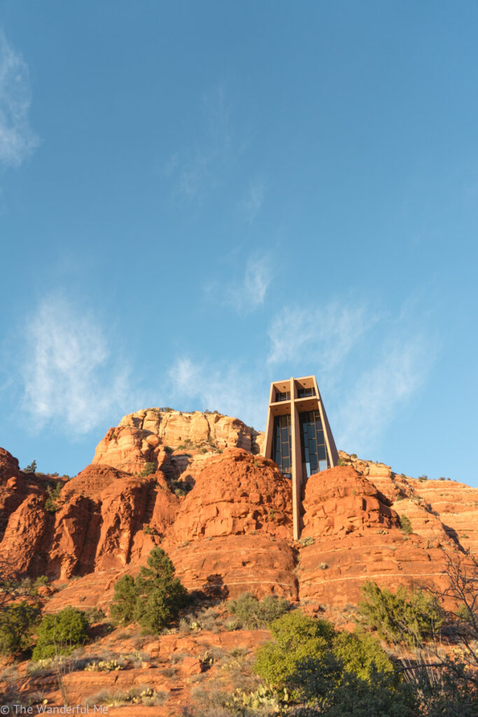 Chapel of the Holy Cross, which is one of the best things to do in Sedona.
