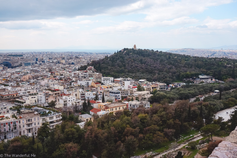 Heading up to Lycabettus hill via the Lycabettus Funicular is one of the best things to do in Athens, Greece.